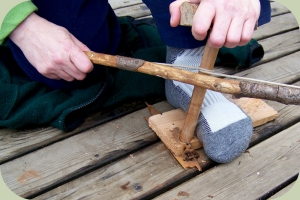 bow and drill fire making