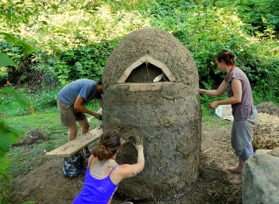 Cob Oven Construction