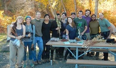 class photo from central Washington fieldtrip