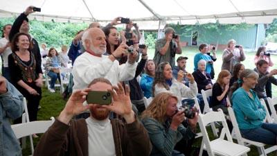 Photos of the ceremony