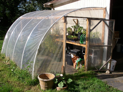 Heating A Greenhouse Without Electricity
