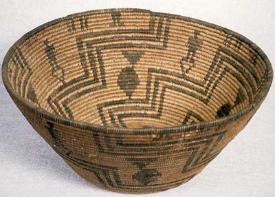 Apache basket from J.W. Powell Collection