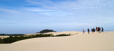 Oregon Dunes Panorama