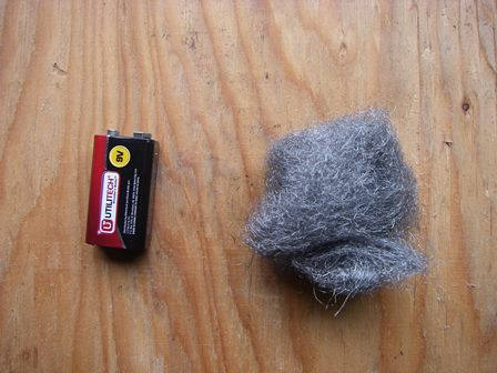 Ball Of Steel Wool For Survival