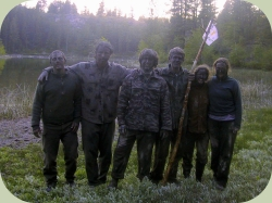 wilderness scout skills team