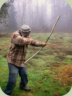 make a wooden bow for wilderness survival