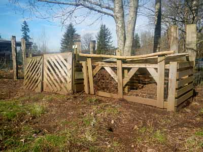 homemade compost bins