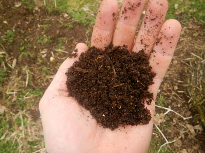 perfect compost made in homemade compost bins