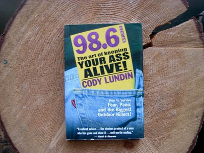 Cover of 98.6 Survival book