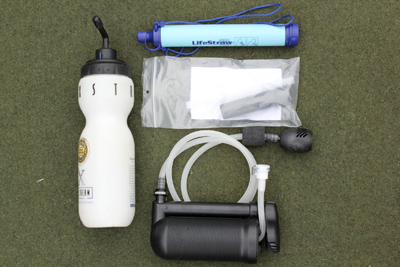 Filters for survival water purification