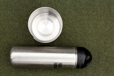 Steel containers used for survival water purification