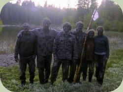 wilderness scout skills team